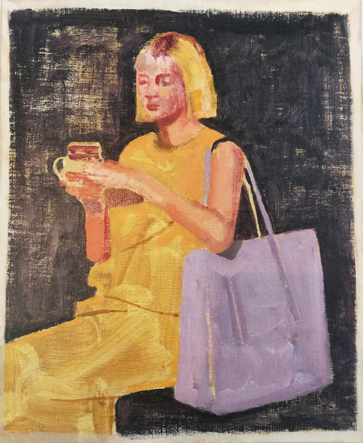 Ian Grose, 'Karin with yellow hair and rooibos', 2019, Stevenson