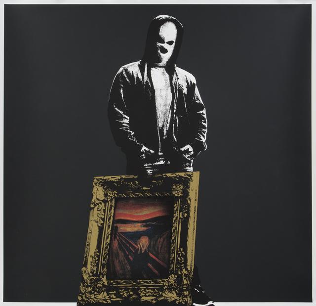 DOT DOT DOT, 'Scream (Black)', 2014, Julien's Auctions