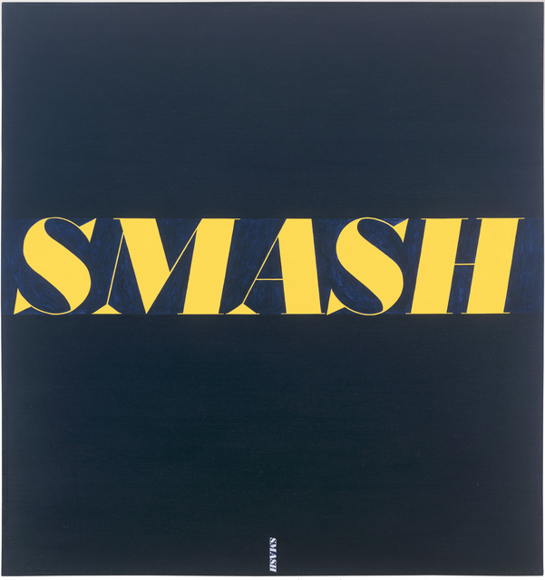 , 'Smash,' 1963, San Francisco Museum of Modern Art (SFMOMA)
