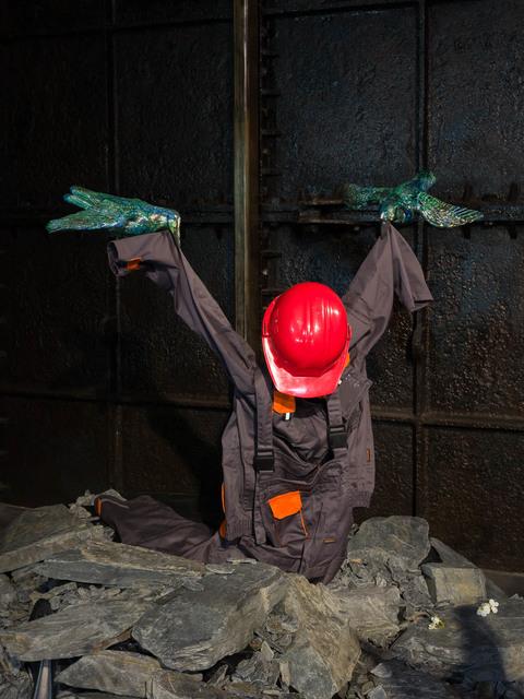 Kris Lemsalu, 'Builder', 2018, Koppe Astner