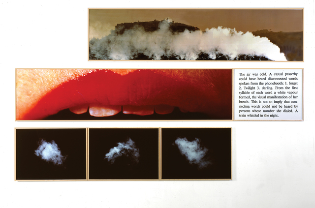 , 'Deadre's Lip,' 1987, Galerie Hans Mayer