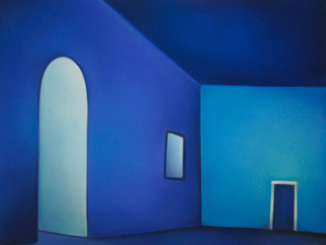 Margaret nes, 'Light into Blue Room 19-11', 2019, Ventana Fine Art