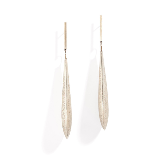 Sandra Enterline, 'Perforated Paddle Earring', ca. 2018, Patina Gallery