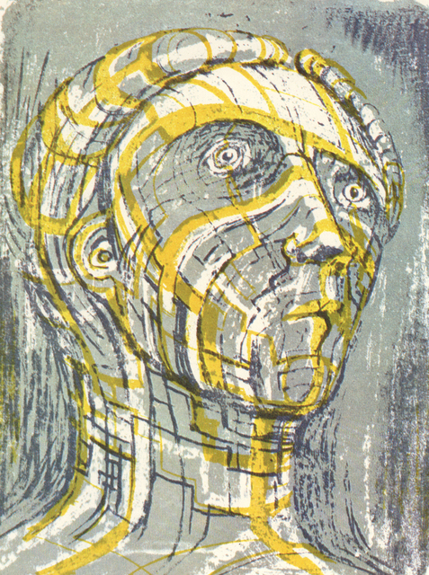 Henry Moore, 'Head of Prometheus', 1950, Marlborough Graphics