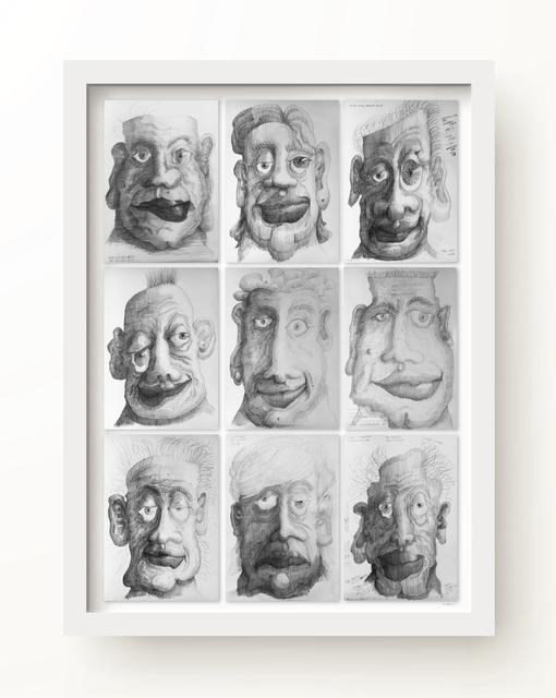 R E Sabean, 'Asymmetries 2', 2017, MvVO ART