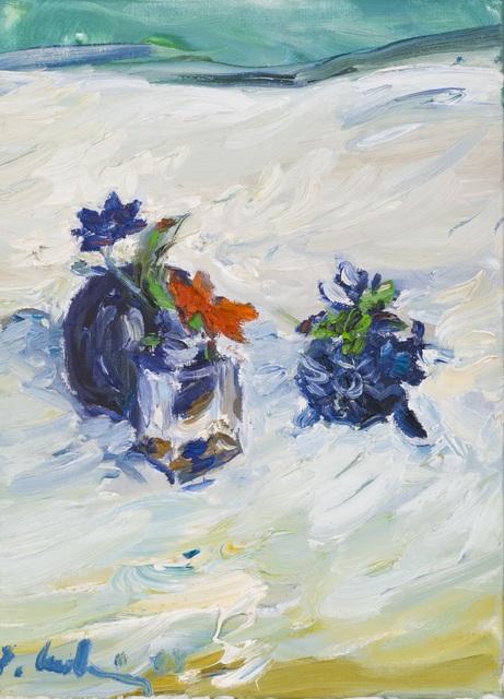 Roland Ladwig, 'Blumen mit Vase (Flowers with Vase)', 2003, Galerie Lehner