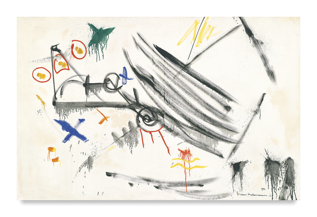 , 'White Expansion,' 1954, Miles McEnery Gallery