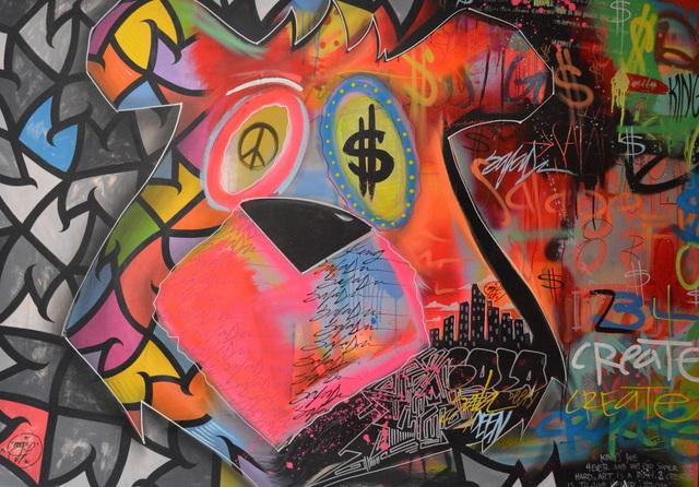 """, 'King Saladeen x Spencer """"Mar"""" Guilbert Collab,' 2016, Peerless Arts"""