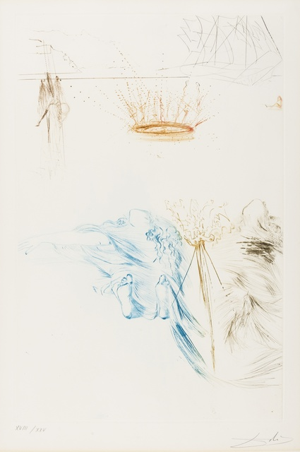 Salvador Dalí, 'Les Chevaliers du Roi Artur (from Tristan et Iseult) (M&L 426b; Field 70-10-U)', 1970, Forum Auctions