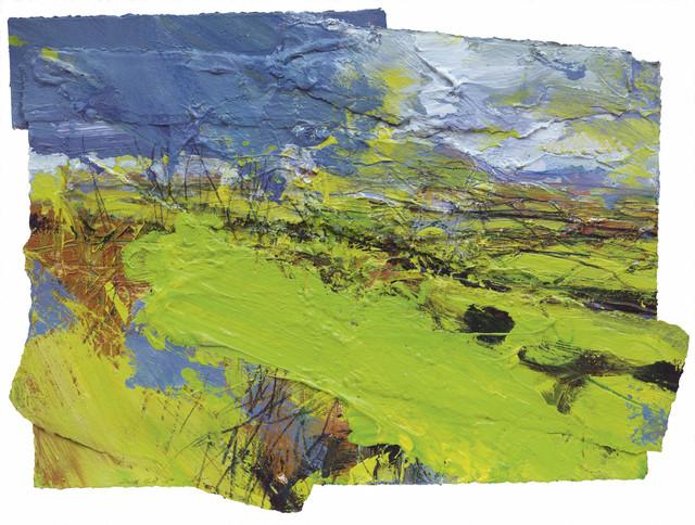 , 'Green Devon (Haytor, Hound Tor) ,' 2016, Messum's
