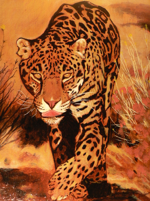 , 'Leopard,' 2017, The Galleries at Salmagundi