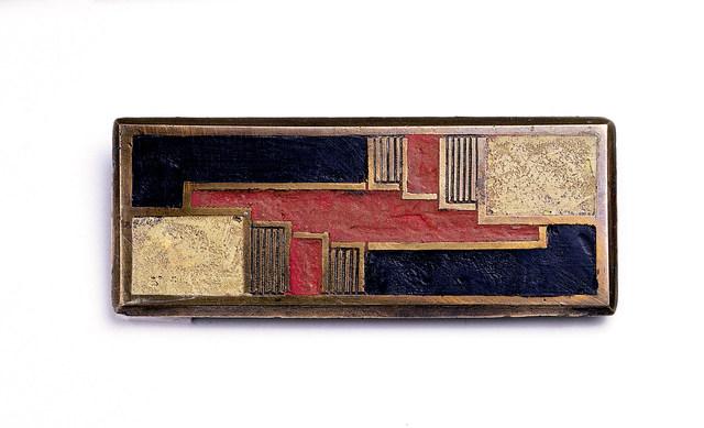 'Brooch', ca. 1925, Cooper Hewitt, Smithsonian Design Museum