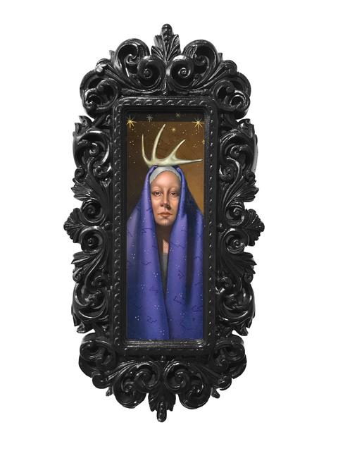 , 'Horned Lady,' 2018, La Luz de Jesus Gallery
