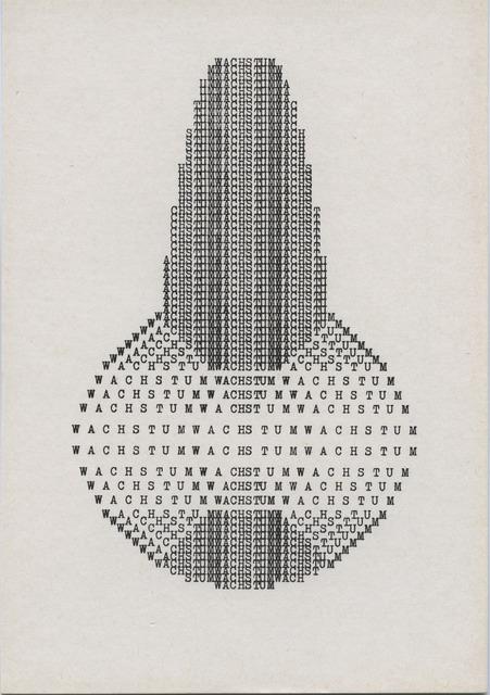 , 'Wachstum Zincography,' , ChertLüdde