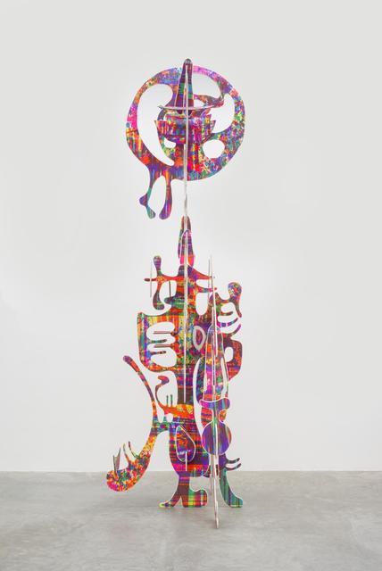 , 'Vertical wood sculpture,' 2013, Almine Rech Gallery
