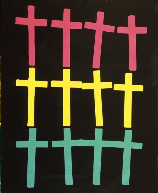 Andy Warhol, 'Crosses', 1982, Gagosian
