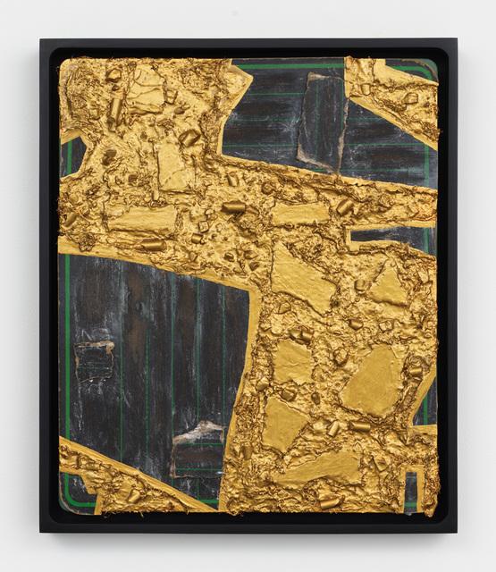 , 'Mending Board 21,' 2016-2017, Lehmann Maupin