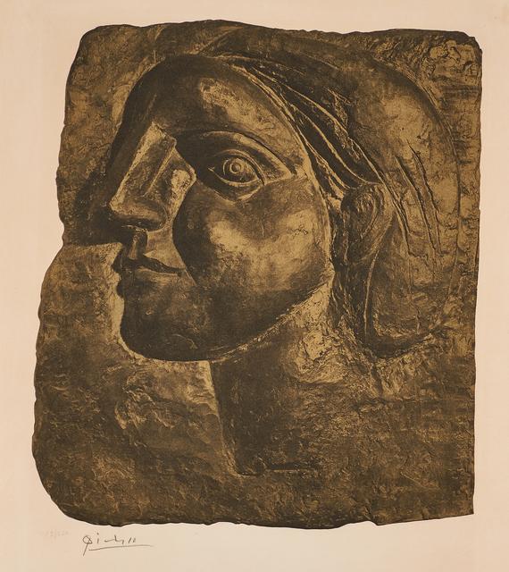 Pablo Picasso, 'Tête de Femme (Marie-Thérèse)', 1958, Rago/Wright