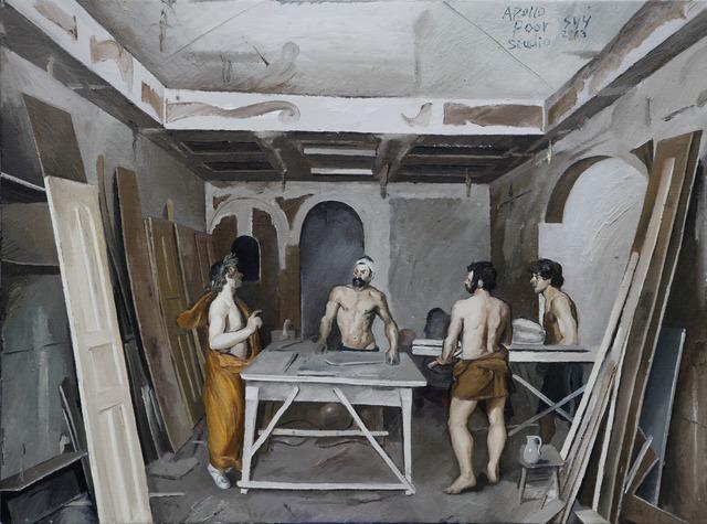 , 'Poor Studio (Factory Door),' 2013, Platform China