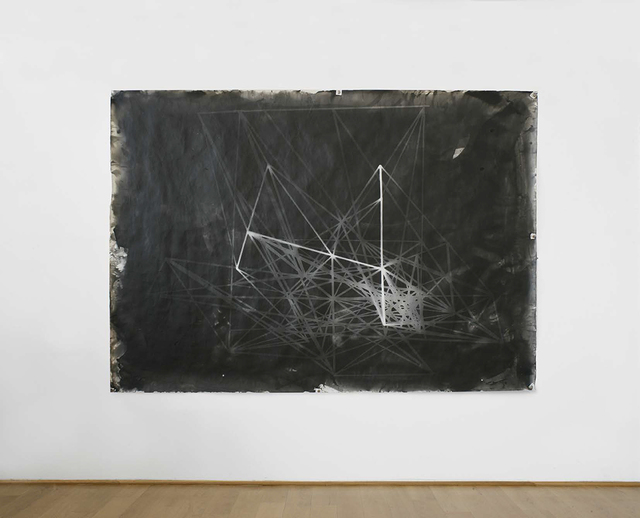 , 'Photogram of the 'Hommage à Pascal' (1981) Larch Stick Construct I,' 1982, VILTIN Gallery