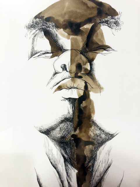 , 'Tears Unto Rivers,' 1982, Machamux