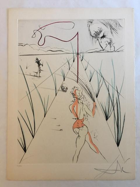 Salvador Dalí, 'La Femme au Fouet (Woman with Whip)', 1969, Print, Etching, Puccio Fine Art