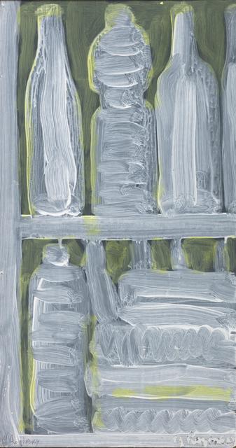 , 'White bottles on green background,' 1978, Art4.ru