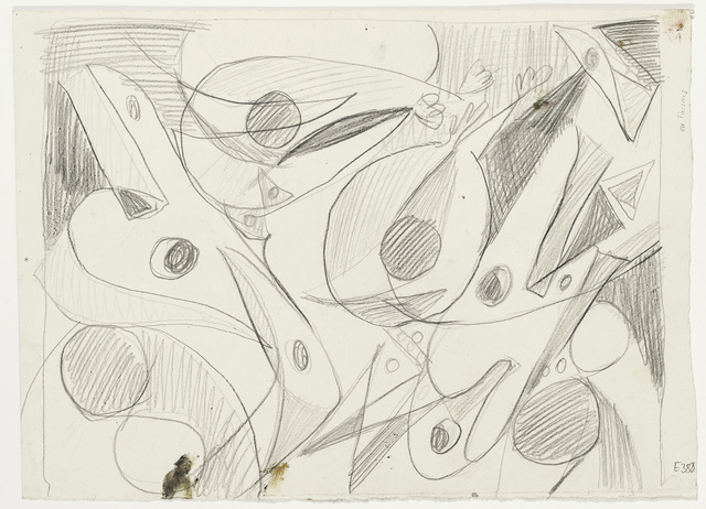 , 'Composition with butterflies,' 1948, Jahn und Jahn