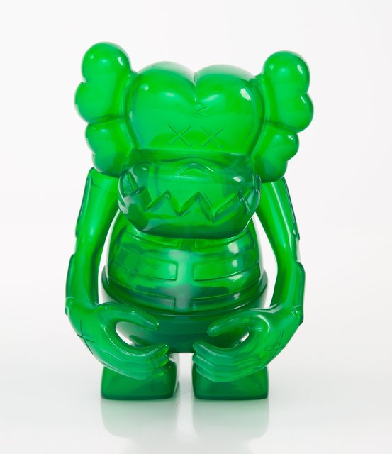 KAWS, 'Skull Kun (Green)', 2006, Sculpture, Cast vinyl, Heritage Auctions