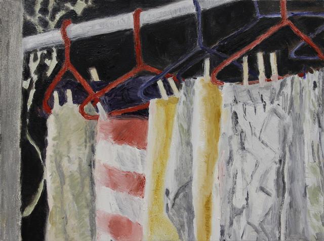 , 'Washline I,' 2017, Michael Gibson Gallery