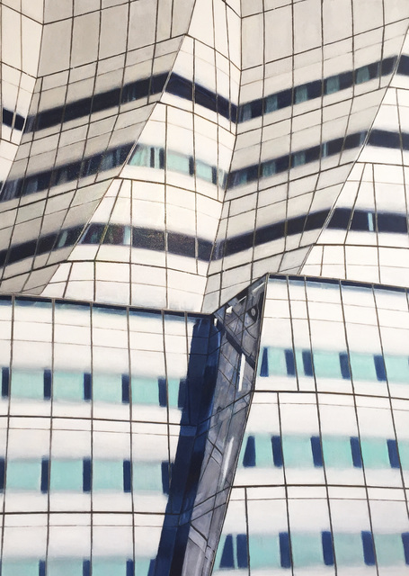 , 'The IAC Building,' 2016, Paraphé