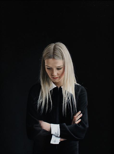 , 'Sarah in a Black Dress,' 2014, Cynthia Corbett Gallery