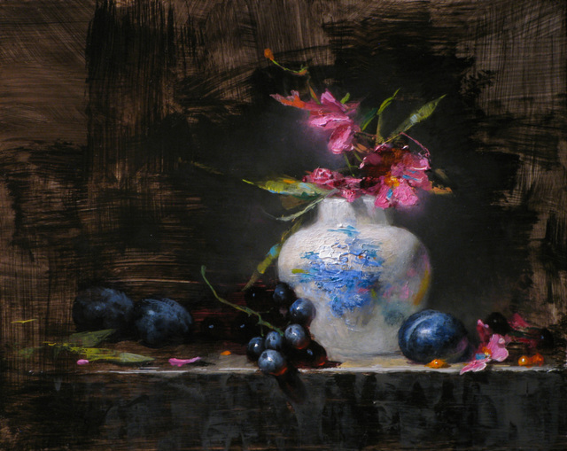 , 'Asters and Plums,' 2015, Gallery 1261