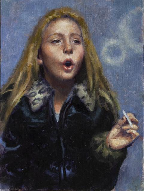 , 'KID SMOKING (ONE),' 2018, La Luz de Jesus Gallery