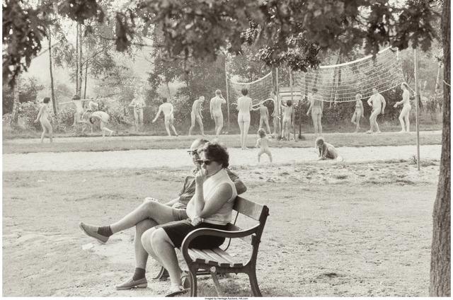 Elliott Erwitt, 'Nudist Camp, England, 1968 and Store Window', Heritage Auctions