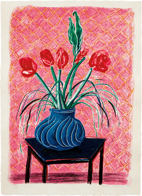 David Hockney, 'Amaryllis in Vase, from Moving Focus', 1985, Phillips
