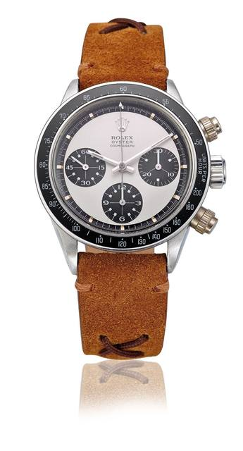 , 'Stainless steel Paul Newman Daytona, ref. 6263, screw-down pushers,' , Davide Parmegiani Fine Watches
