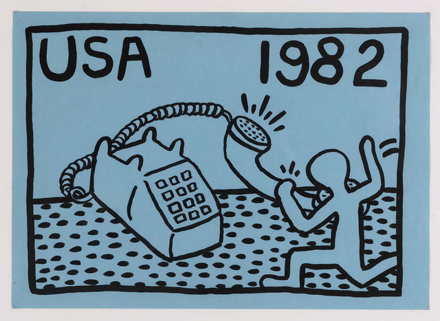Keith Haring, 'Untitled ', 1982, Opera Gallery
