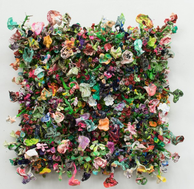 Stefan Gross, 'Flower Bonanza - green', 2019, Rademakers Gallery