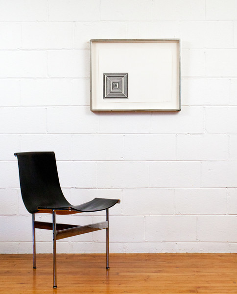 """Frank Stella  """"GETTY TOMB"""", 1967"""