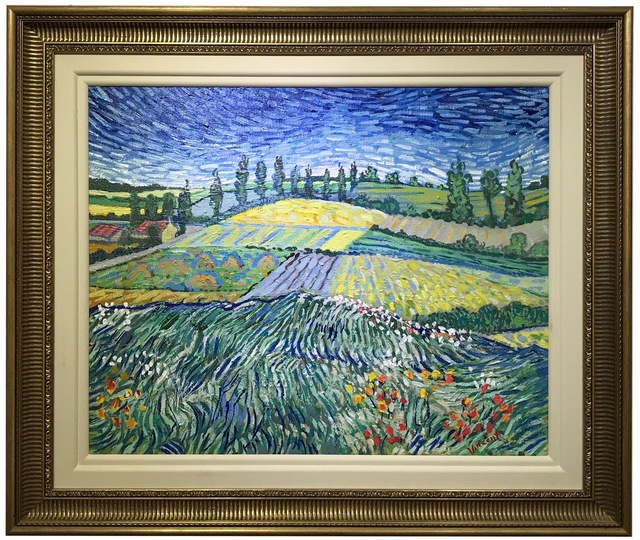 John Myatt, 'Wheatfields (after Van Gogh)', 2008, Canvas Gallery