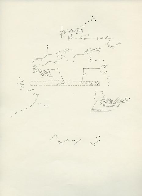 , 'MUSIC ,' 1962, Anglim Gilbert Gallery