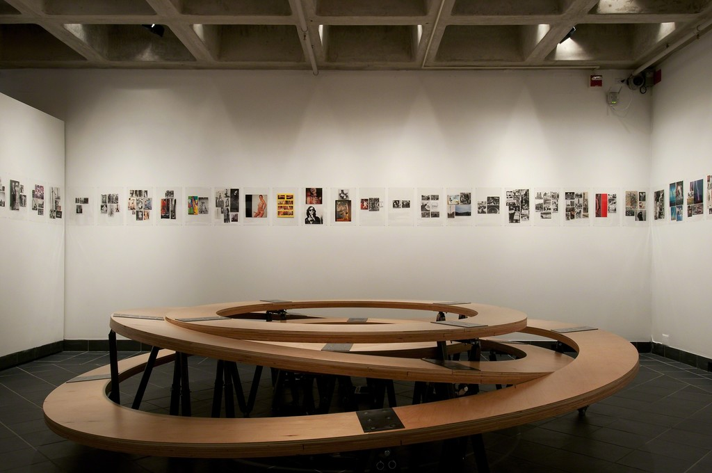 if i can't to it, it's not my revolution. Cantor Fitzgerald Gallery 2014. Photo: Lisa Boughter