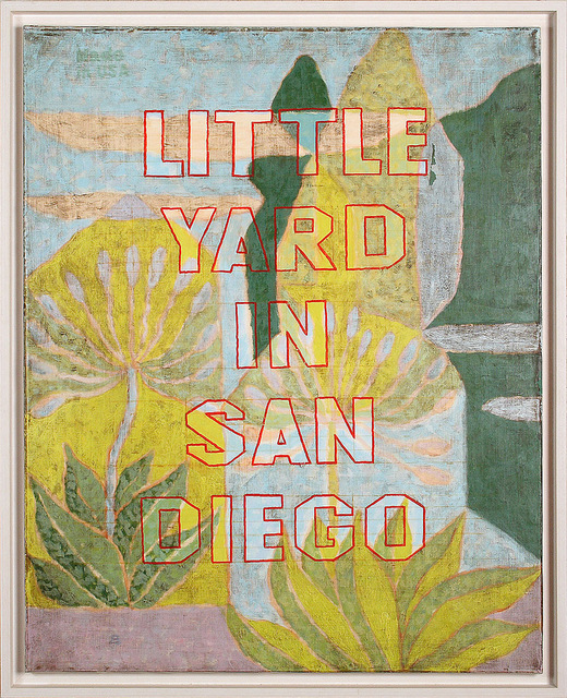 , 'Little Yard in San Diego CA,' 1999, Galerıe Blue Square