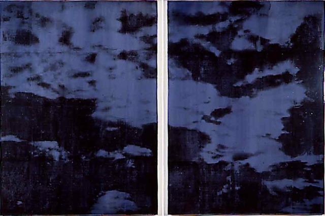 , 'Ohne Titel (Dyptichon),' 1998, Mario Mauroner Contemporary Art Salzburg-Vienna