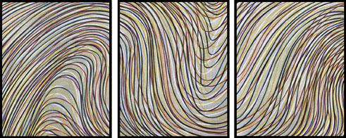 Sol LeWitt, 'Wavy Lines on Gray', 1996-1998, Schellmann Art