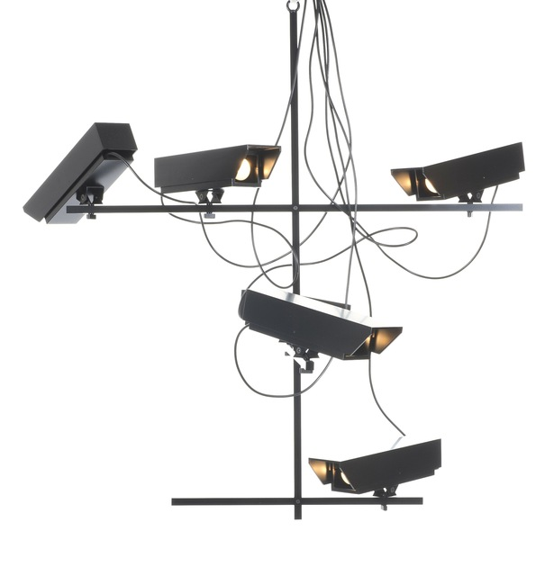 Humans Since 1982, 'Surveillance chandelier', 2011, Design/Decorative Art, Steel & aluminium, Victor Hunt Designart Dealer