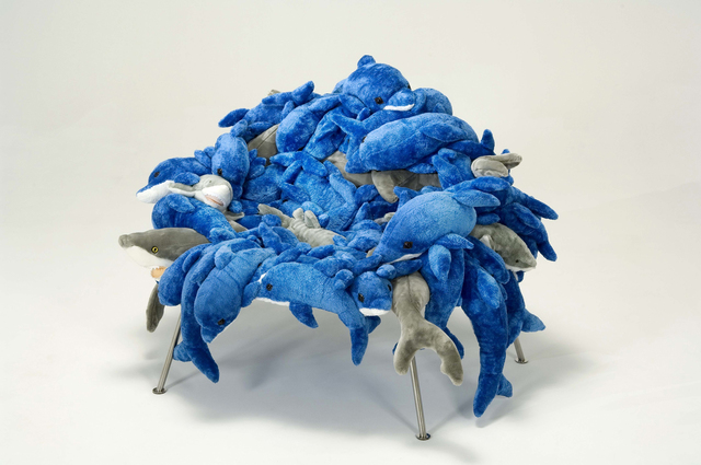 , 'Dolphins & Sharks Banquete Chair,' 2002, Friedman Benda