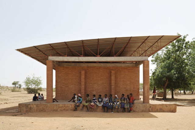 , 'Primary School, Gando, Burkina Faso,' 2001, Philadelphia Museum of Art