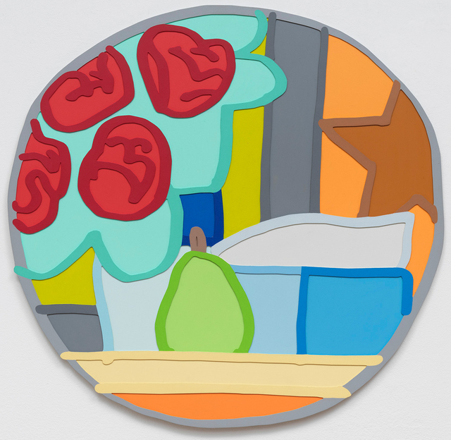 , 'Still Life with Four Roses and Pear,' 1963, Gagosian